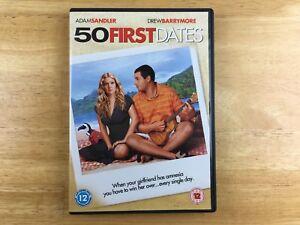 50 First Dates - Adam Sander, Drew Barrymore - Region 2 PAL DVD.