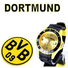 Dortmund  Armbanduhr  + Borussia Dortmund BVB Bierdeckel Neu ( 6 )