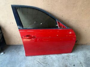 BMW F30 F31 FRONT RIGHT PASSENGER SIDE DOOR SHELL COMPLETE RED MELBOURNEROT 88MK