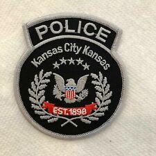 Kansas City KS Police Patch