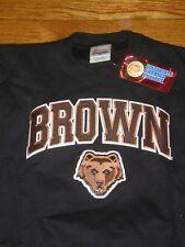 NEW Brown Bears BLACK CREWNECK SWEATSHIRT SZ:YOUTH M YM