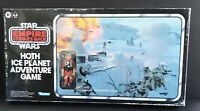 STAR WARS Retro Collection Reproduction HOTH Board Game LUKE Figure Kenner 8+.