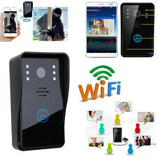 ENNIO WiFi Remote Video Camera Door Phone Rainproof Intercom IR Night Doorbell
