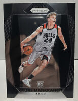 2017-18 Panini Prizm Lauri Markkanen #247 RC Rookie Card Chicago Bulls