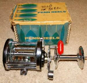 VINTAGE PENN SURFMASTER 200 FISHING REEL with EXTRAS