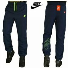 Nike Mens Tracksuit Bottoms Woven Clothesline Cuffed Sweat Track Pants Navy