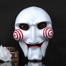 Scary Saw Jigsaw Masque Cosplay Halloween Party Resin Mask High Quality Props