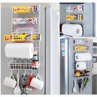 6 Tiers Over Door Freezer Storage Rack Kitchen PantryPantry Closet Fridge Holder