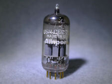 Amperex USN-CEP 6922 O-Getter 1963 Gold Pin USA Strong Vacuum Tube