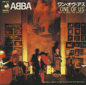ABBA - One of Us (Japan 1981)