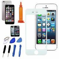 White Front LCD Replacement Screen Glass Lens Repair Tools Kit For iPhone 7 Plus
