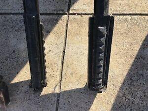 Metal Verandah Posts X 3 Pieces