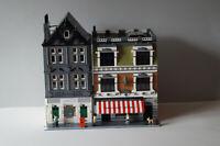 Lego Custom Modular   Häuser Moc`s Schlachter und Blumen Laden