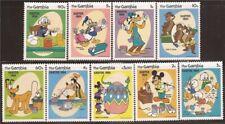 Grenada - 1984 Disney Characters Easter - 9 Stamp Set - Scott #498-506