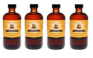 Sunny Isle™ Jamaican Black Castor Oil Original for Hair Growth 8oz - 4pack