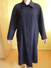 Damen Mantel Übergangsmantel Leicht Elegant Gr. 40 HUCKE schwarz Verdeckte Knopf