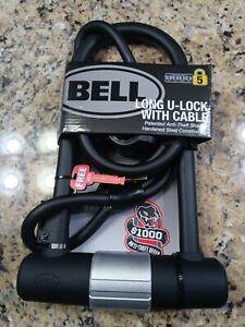 BELL SPORTS CATALYST 550 U-Lock With Bonus Cable