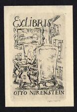 39)Nr.072-EXLIBRIS- Julius Zimpel , C3- Radierung