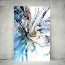Poster Painting Colorful Ocean Abstract Canvas Art Landscape Oil Living Pictures
