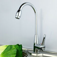 Chrome Hot/Cold Two Hole Mixer Sink Water Tap Basin Kitchen Wash Basin Faucets
