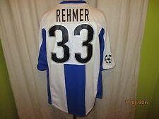 "Hertha BSC Berlin Nike CL. Matchworn Trikot 1999/00 ""C"" + Nr.33 Rehmer Gr.XL"