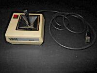 Tan Vintage IBM PC JR JOYSTICK COLLECTORS GAME Hardware History Japan WORKING