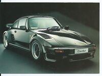 Carte postale Porsche Turbo 385 PS - Format CPM