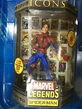 Marvel Legends Icons Unmasked Spider-man Toybiz MOC