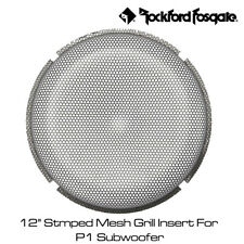 """Rockford Fosgate P1G-12 - 12"""" Stmped Mesh Grill Insert For P1 Subwoofer"""