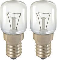 Crompton Oven Appliance 300 Degree Lamp - 15w SES / E14 / Small Edison - 2 Pack