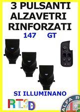KIT 3 Pulsanti pulsantiera Alfa 147 GT pulsante interruttore Romeo alzavetri luc