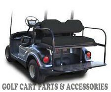 Yamaha G29 'DRIVE' Golf Cart Rear Flip Seat Kit (2007-UP)  *BLACK SEAT CUSHIONS*