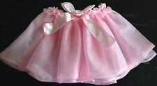 Euc Miniwear Girls Pink Tutu Skirt