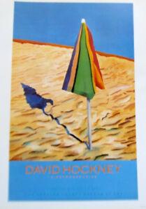 David Hockney Mini- Reprint of Los Angeles County Museum Of Art Poster No. 1