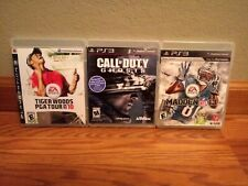 EA Sports Madden13 Call of Duty Ghosts & Tiger Woods PGA Tour10 For Playstation3