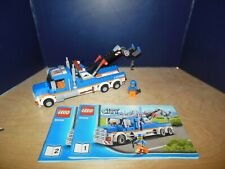 Lego City 60056 Tow Truck 100% with manuals
