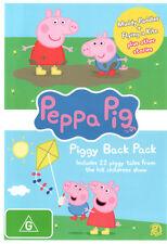 Peppa Pig: Piggy Back Pack 1 (2 Disc)  - DVD - NEW Region 4