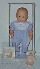 "New American Girl Bitty Baby 15"" Doll Blonde Blue Yellow Box NRFB"