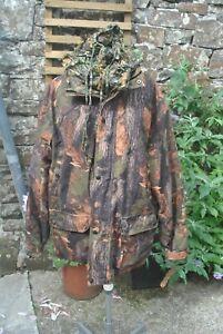 Jack Pyke Jacket Large & Balaclava Woodlands Camouflage. Fishing / Hunting