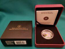 2012 Venetian Glass Bumble Bee Canada $20 1oz Silver Coin