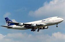B-747-100 Air Club International B747 Airplane Wood Model Free Shipping