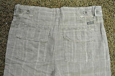 UNION Designer Board Shorts 33 NWT$129 HIGH END! Checkered! Linen Blend! Amazing