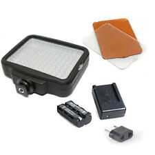 120 LED Video Light + NP-F550 battery Photography Lamp for DV Camcorder