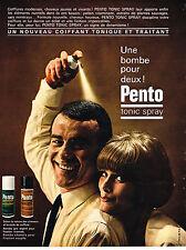 PUBLICITE  1964   PENTO   tonic spray 1