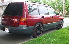 Subaru Forester XL RokBlokz Rally Mud Flaps, 1st Gen, 1998 1999 2000 2001 2002