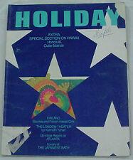 10/1969 Holiday Magazine    Hawaii Finland Atlanta London Theater Bullfighting