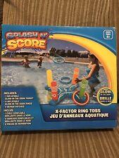Splash N Score X-factor Ring Toss Inflatible Pool Tool
