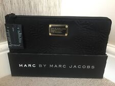 NYC DESIGNER Marc Jacobs Black Computer Sleeve Laptop Cover MacBook Air 11""