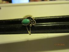 Sterling Silver turquoise southwest Ring Size 8