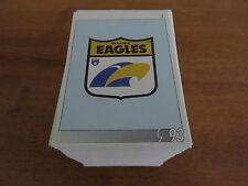 1993 SELECT AFL CARDS. COMPLETE SET.  MINT CONDITION.